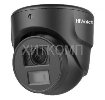 Купольная HD-TVI-видеокамера HiWatch DS-T203N (2.8 mm)